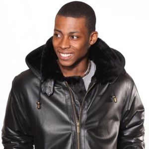 Other - Men's Leather Coat With Black Fur Remove zipper